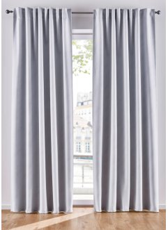 Verdunkelungsvorhang mit Glitzer Effekt (1er Pack), bpc living bonprix collection