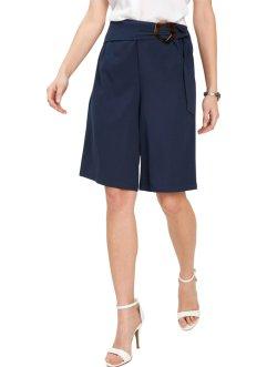 Shorts Leder Look Gr 34 36 38 40 schwarz PU Hot Pants kurze Hose neu
