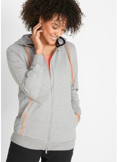 Modische Kapuzen-Sweatjacke, bpc bonprix collection