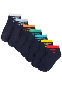 Kurzsocken (7er Pack) mit Bio-Baumwolle, bpc bonprix collection