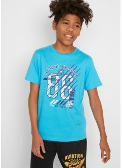 Jungen T-Shirt (2er-Pack) Bio Baumwolle, bpc bonprix collection