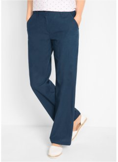 Leinen-Hose mit Bequembund, Loose Fit, bpc bonprix collection