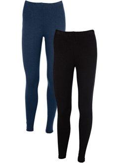 Leggings mit Farbklecksen blau