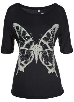 T-Shirt mit Glitzersteinchen, bpc selection