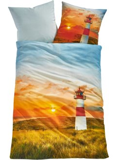 Wendebettwäsche mit maritimen Design, bpc living bonprix collection