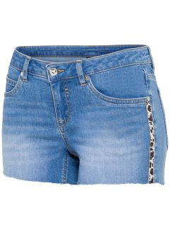 Jeans-Shorts mit Applikation, BODYFLIRT