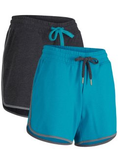 Bequeme 2er Pack Sport-Shorts aus einem Stretch-Material, bpc bonprix collection
