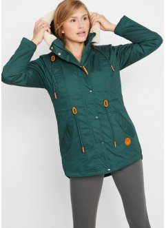 Parka mit Fellimitat-Besatz, bpc bonprix collection