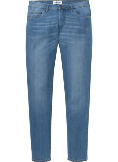 Regular Fit Stretch-Jeans m.recyceltem Polyester, Tapered, John Baner JEANSWEAR