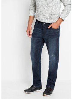 Regular Fit Stretch-Jeans mit Komfortschnitt, Straight, bpc bonprix collection