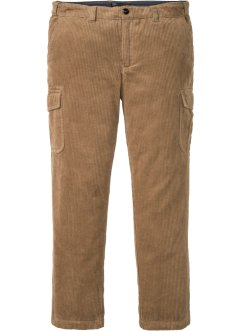 Regular Fit, Cargo-Cordhose Straight, bpc selection