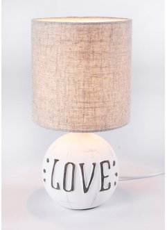 Tischleuchte Love, bpc living bonprix collection