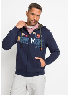 Sweatjacke mit Kapuze, bpc selection