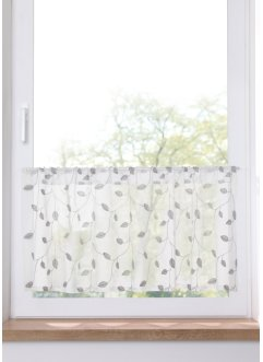 Scheibengardine mit Glanz Stickerei, bpc living bonprix collection