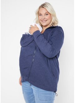 Umstands-Sweatjacke / Trage-Sweatjacke mit Babyeinsatz, bpc bonprix collection