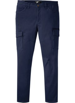Slim Fit Stretch-Cargo-Hose, Straight, bpc bonprix collection