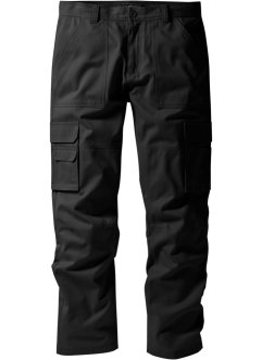 Regular Fit, Cargo-Hose mit Teflonausrüstung Straight, bpc selection