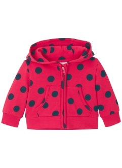 Baby Kapuzen-Sweatjacke Bio Baumwolle, bpc bonprix collection