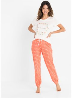 Pyjama mit Bio-Baumwolle, bpc bonprix collection