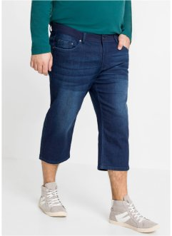 3/4 Stretch-Jeans mit Komfortschnitt, Regular Fit, bpc bonprix collection