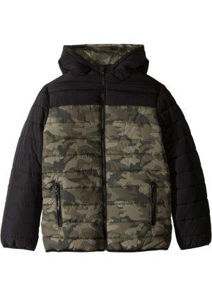 Bonprix Jungen,Kinder Wattierte Jacke mit Camouflagedruck   04036647057097