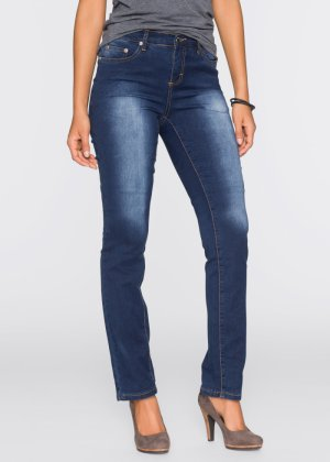 Power-Stretch-Jeans Straight, John Baner JEANSWEAR, weiss twill