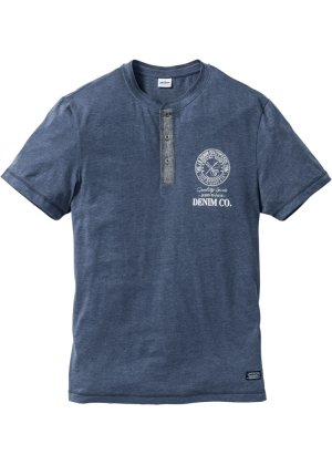 Bonprix Herren T-Shirt mit Knopfleiste Regular Fit   08940002124460