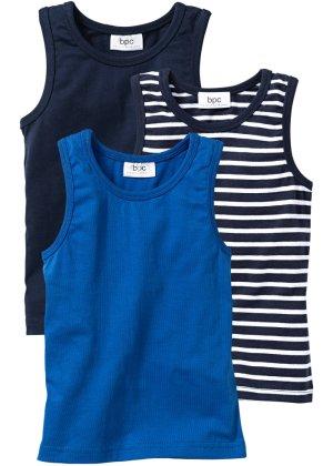 Bonprix Jungen,Kinder Unterhemd (3er-Pack) | 08901145362966