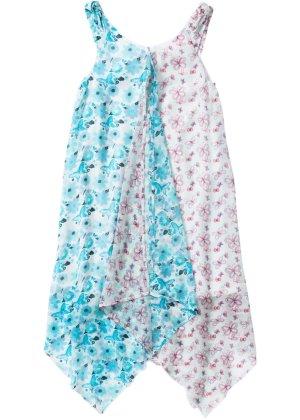 Bonprix Mädchen,Kinder Zipfelkleid mit Blumendruck   08902105057335