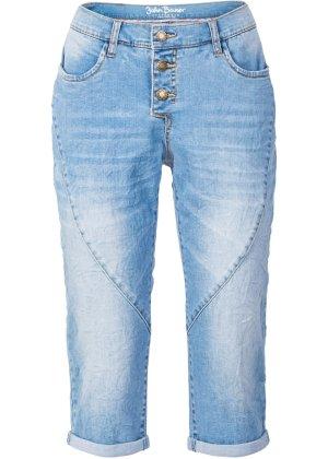 Bonprix Damen,Kinder,Jungen Capri-Stretch-Jeans im Boyfriend-Stil | 06941938491390