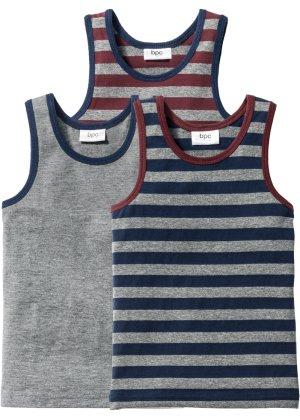Jungen,  Kinder bonprix Unterhemd (3er-Pack) | 08901145392857