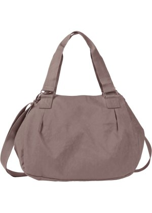 Schultertasche Casual, bpc bonprix collection, grau