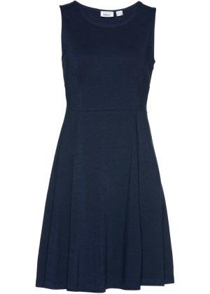 Bonprix Damen Ärmelloses Jersey-Kleid   08903340955660