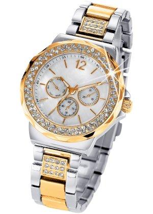 Bonprix Damen Armbanduhr in Chrono-Optik | 04897011921259