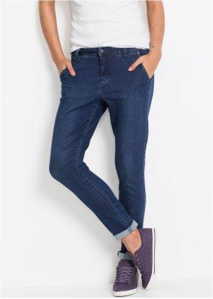 Ultra-Soft-Jeans mit seidigem Griff BOYFRIEND in blau für Damen von bonprix D4zhuI