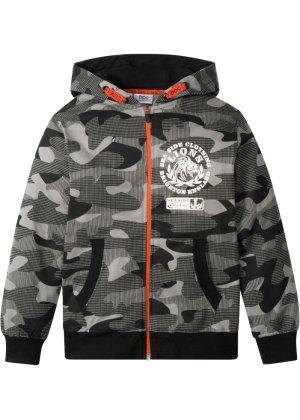Bonprix Jungen,Kinder Sweatjacke mit Camouflagedruck | 08903176050102