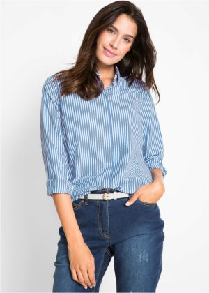Langarm-Vokuhila-Bluse – designt von Maite Kelly, bpc bonprix collection