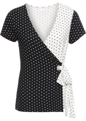 Bonprix Damen Wickel-Shirt | 08903340698710