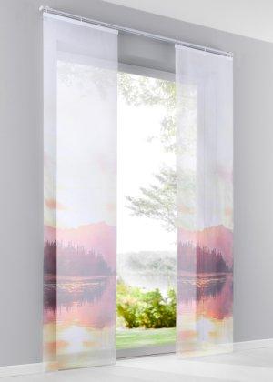 schiebegardinen für stilvolle lichteffekte | bonprix - Schiebevorhange Wohnzimmer Modern