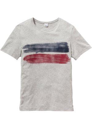 Bonprix Herren T-Shirt mit Druck Regular Fit   08940001725484