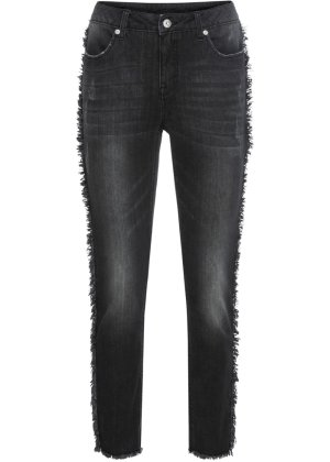 High-Waist-Jeans in blau von bonprix Bodyflirt Outlet Online-Shop Am Billigsten Steckdose In Deutschland Outlet Neuesten Kollektionen 8nAzNNSGH