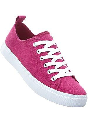 Damen Schuhe Freizeitschuhe Sneakers Weinrot 40 2cC5Uk9PF