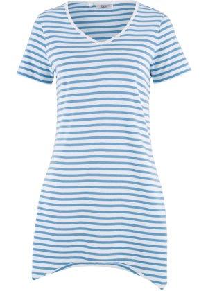 Bonprix Damen Zipfel-Shirt mit kurzen Ärmeln | 04893865699641