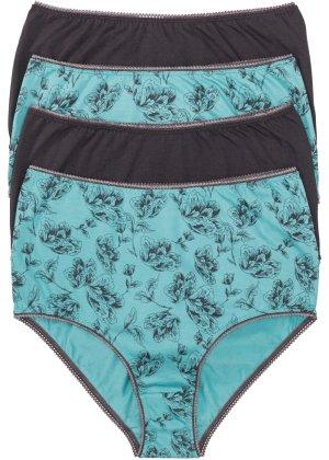 Bonprix Damen Taillenslip (4er-Pack) Bio-Baumwolle   08806178335164
