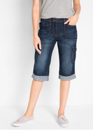 f848b897f3b7 Cargo-Stretch-Jeans in Capril auml nge, bpc bonprix collection