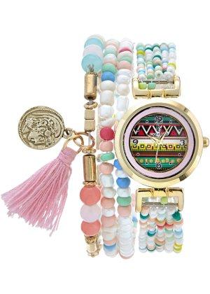 Bonprix Damen Uhr im Ethno-Look | 04036961224168