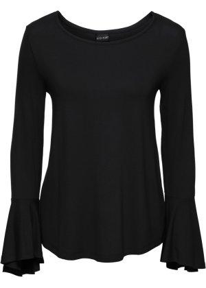 be978eade4e1 Damen Shirts in schwarz - von Rundhals bis V-Ausschnitt