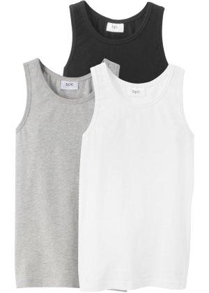 Jungen,  Kinder bonprix Unterhemd (3er-Pack) | 08901145511456