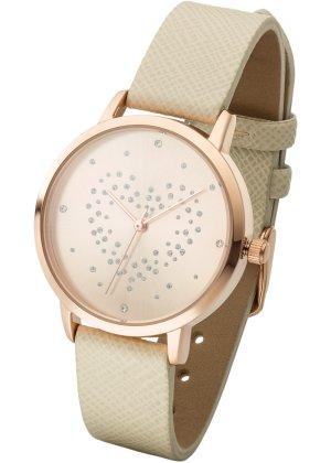 Bonprix Damen Uhr mit Strassherz | 04260239651961