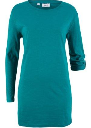 Bonprix Damen Weites Langarm-Longshirt | 06927888916909